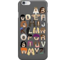 Harry Potter Alphabet iPhone Case/Skin