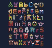 Sesame Street Alphabet One Piece - Short Sleeve