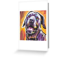 Cane Corso Dog Bright colorful pop dog art Greeting Card