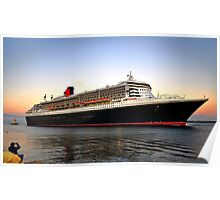 Magnificent Cruise Ship Poster