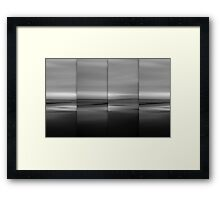 Moontide Framed Print