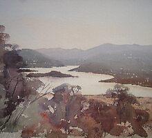 Towards Tamar Island by Pauline Winwood