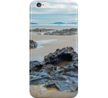 Rocks on Rhossili Beach iPhone Case/Skin
