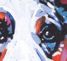 Cairdigan Welsh Corgi Dog Bright colorful pop dog art Sticker