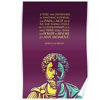 Marcus Aurelius quote: The Power to Revoke Poster