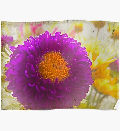 Purple Whimsy Poster