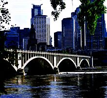 Minneapolis in Blue by shutterbug2010