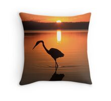 There Is Only This Moment ! -Lake Weyba SE Queensland Throw Pillow