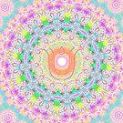 Healing mandala 4 by Lilaviolet