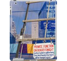 The private function iPad Case/Skin