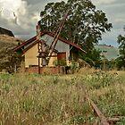 The Goods Shed - Gundagai Railway Station by GailD