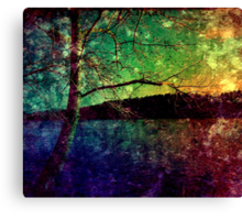 Bright Night. Canvas Print