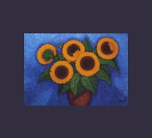 Sunflowers of my hope II Womens Fitted T-Shirt