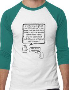 Excuse me? Men's Baseball ¾ T-Shirt