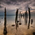 Westernport  Pillars by Robert Mullner