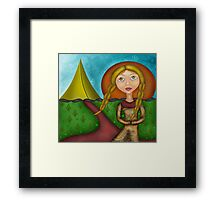 Princess of the Tents Framed Print