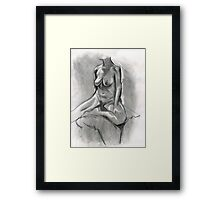 Charcoal Pullout Framed Print