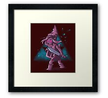 Dark Girl Framed Print