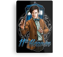 11th Doctor - Eleventh Heaven Metal Print