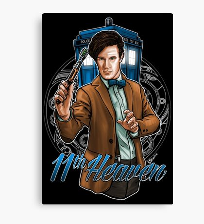 11th Doctor - Eleventh Heaven Canvas Print