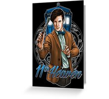 11th Doctor - Eleventh Heaven Greeting Card