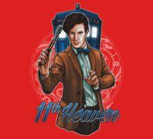 11th Doctor - Eleventh Heaven Kids Tee