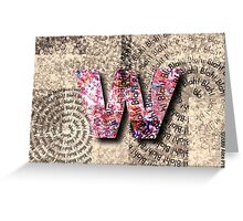 Motivation by W: $4.95 Greeting Card