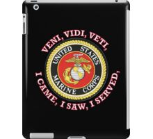 USMC VVV SHIELD iPad Case/Skin