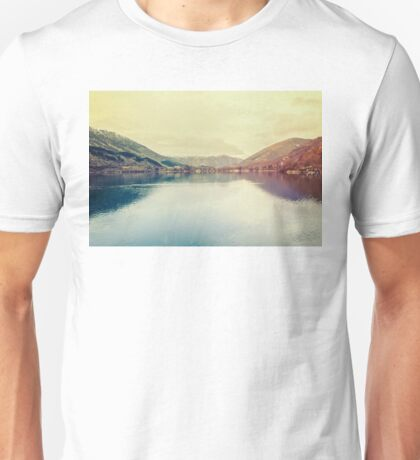 A beautiful lake Unisex T-Shirt