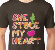She stole my heart Unisex T-Shirt