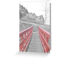 Red. Greeting Card