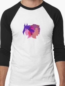 Arc V Ship Silhouette- Yuri/Dennis Men's Baseball ¾ T-Shirt