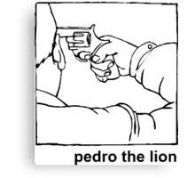 Pedro the Lion t-shirt – emo, post hardcore, indie rock Canvas Print