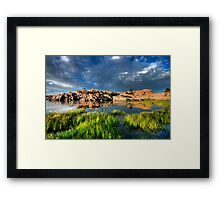 Bright Lights, Big Rocks Framed Print