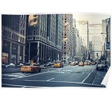 Traveling Up Park Avenue Poster