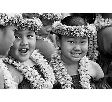 Hula Girls Photographic Print