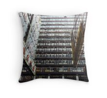 this morning in hong kong  Throw Pillow