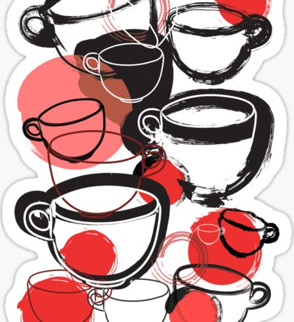 Cups Sticker
