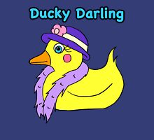 Ducky Darling Womens Fitted T-Shirt