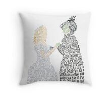 For Good Throw Pillow