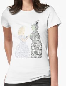 For Good Womens Fitted T-Shirt