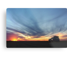 Touring on the Oodnadatta Track Metal Print