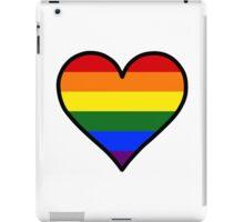 Homosexual Heart in Black iPad Case/Skin