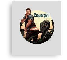 CleverPratt Canvas Print