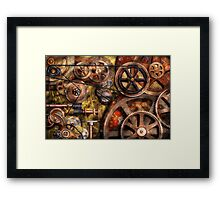 Steampunk - Gears - Inner Workings Framed Print