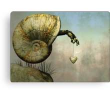 ..with this lonely heart.. Canvas Print