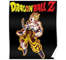 dragon ball z design t-shirt Poster