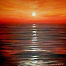 Red Sunset by Cherie Roe Dirksen