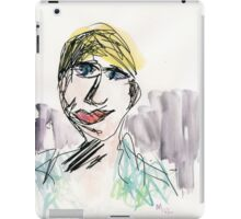 Part Tab Works - woman 4 iPad Case/Skin