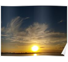 Secret Sunset - Yamba NSW Poster